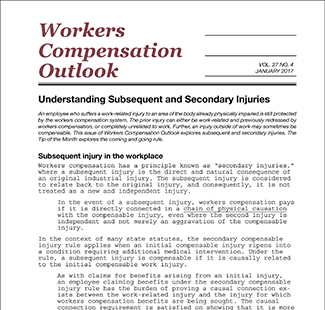 Workers Compensation Outlook